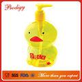 Lovely pato amarillo! Contenedores de plástico pet botellas de chatarra de plástico