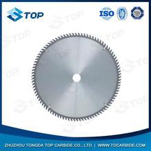 Divers matériaux cémenté / carbure de tungstène lame de scie circulaire utilisé pour la fabrication coupe spéciale