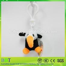 Jungle series owl keychain,soft pvc keychain available