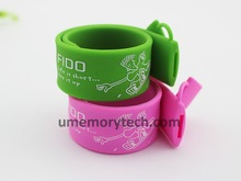 Factory wholsale Promotional Gifts usb wristband silicone bracelet usb flash drive