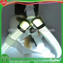Pet puppy dog harness LED glow pet harness