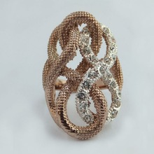 2015Jewelry Zircon Ring Fashion Jewelry Ring Custom Design Available