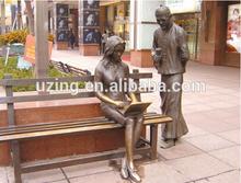 sculpture en Bronze plein air Sculpture d'Art moderne UZ-SP35
