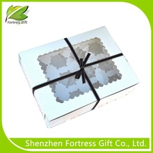 pvc window pop cake gift boxes, paper cardboard birthday cake boxes, corrugated cake box