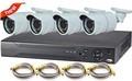hd cctv casa de segurança câmera de vídeo do sistema de vigilância completa 4ch 720p ivc kit câmera ao ar livre p2p 3g câmerasdigitais