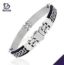 2015 custom wholesale stainless steel jewelry leather bracelet kit