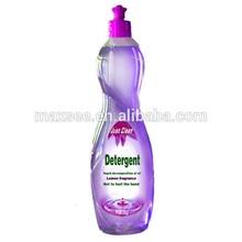 Formulation dishwashing liquid with exquisite bottle
