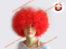 Hot-selling Soccer fans wig hair,Football fans wig,Party wigs fashion hair accessories alice band