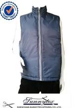Sunnytex wholesale padded winter warm simple style men's wholesale vest