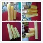 12mic pvc wrap film cling film good transparent cast roll soft color plastic wrap