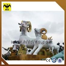 life size fiberglass sheep statue