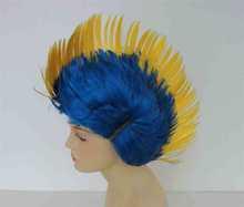 Football Fan Wig enamel butterfly hair band