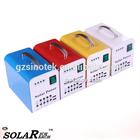SINOTEK 10W 20W 5V 12V customized logo solar power