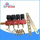 Auto Valtek type common rail injector spare parts / OEM gas injector rail common / auto fuel spare parts common rail injector