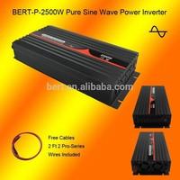 Top Manufacture 12VDC to 240VAC 50HZ Australia Socket 2500W Pure Sine Wave Off Grid Inverter for Fridge on Caravan