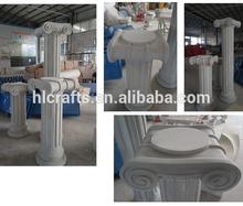 Roman column capitals fiberglass resin roman roman pillars for sale