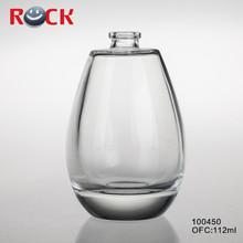 100ml Fancy clear cosmetic bottle for eau de parfum