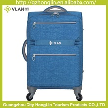 2015 outside carry on trolley soft luggage nylon