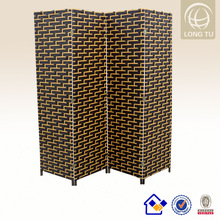 2015 USA New design living room unique decor restaurant rattan hand weaving temporary walls room dividers