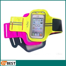 New Arrival For iphone 6 running armband with key holder pouch and Adjustable velcro arm strap