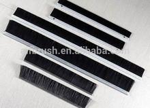 Durable Door Seal Brush Strip With Aluminum