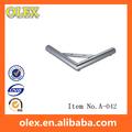 De Metal em aço inoxidável chrome móveis pernas A-042