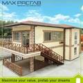 structure légère en acier préfabriqués villa moderne de conception architecturale