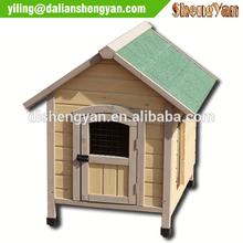 Cheap China Unique Outdoor Decorative Prefab Wooden Big Dog House