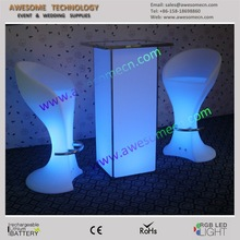 contemporary bar furniture/modern bar stool with led