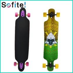 Hot sell maple skateboard , longboard skateboard, professional skateboard