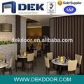 nouveau design de décoration intérieure portes pliantes