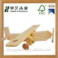 Mejor la venta de la alta calidad decorativa hechos a mano de DIY mini de los niños aviones de madera modelo de