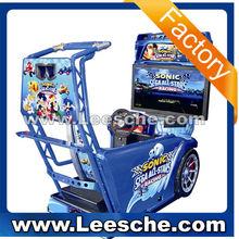 LSRM-005 3D Sonic Luxury 32LCD amusement park games factory car racing game machine 2015-01-17