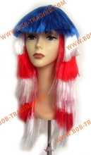 Alibaba china football fans wig devil may cry dante cosplay wig