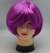 cheap football fans wig,party wig,crazy wig fashion asian hairpieces