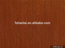 wood grain color decorative pvc kitchen cabinet door film