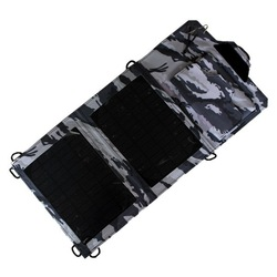 7W SOLAR FOLDABLE BAG used as travel mobile power