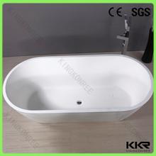 Su misura vasca di pietra artificiale, forma ovale bagno caldo