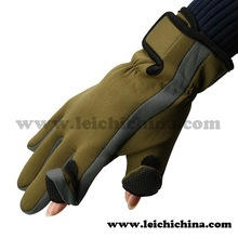 Hot Selling fishing sports waterproof neoprene fishing gloves