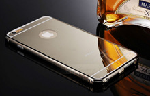 NEW Luxury Aluminum Ultra-thin Mirror Metal Case Cover for Apple iPhone 6 Plus