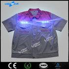 Wholesale Fashionable led light high quality sport t-shirt