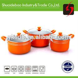 high quality hot sales porcelain enamel cookware&pot