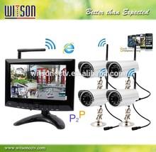 Wireless DVR Kit Digital Wireless Surveillance System WITSON W3-KWD7900N
