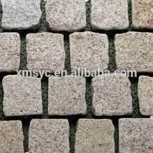 bush hammered paving stone, granite paving stone
