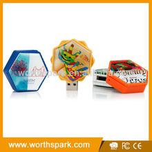 1gb 2gb 4gb 8gb 16gb 32gb epoxy logo label usb flash drive
