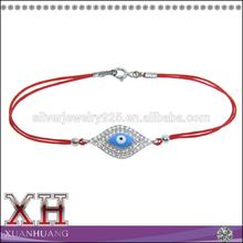 Charming Enamel Turkish Evil Eye Bracelet Colored Blue Evil Eye Bracelet