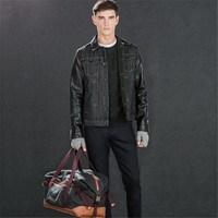 Pleat garment china jacket motorcycle