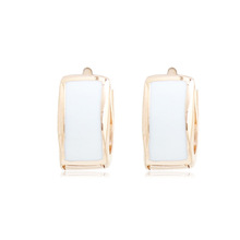 0321144 Manufacturer Supply zircon gold plated earrings