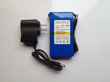 DC 12V Portable 4800mAh Li-ion Rechargeable Battery for Home TV Super Power supply