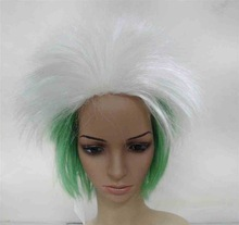 Hot-selling Soccer fans wig hair,Football fans wig,Party wigs dandruff and hair loss shampoo